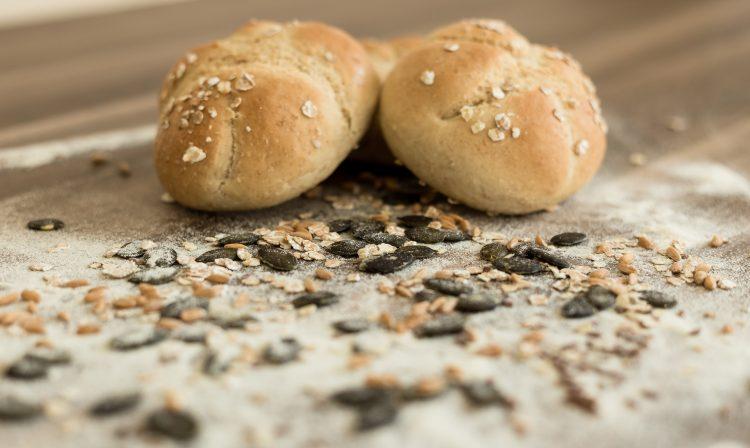Dinkel Kurbiskern Brotchen Laktosefrei Histaminarm Fruktosearm Vegan