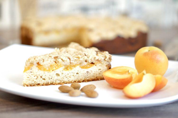 Aprikosen Vanille Streuselkuchen Glutenfrei Laktosefrei Histaminarm