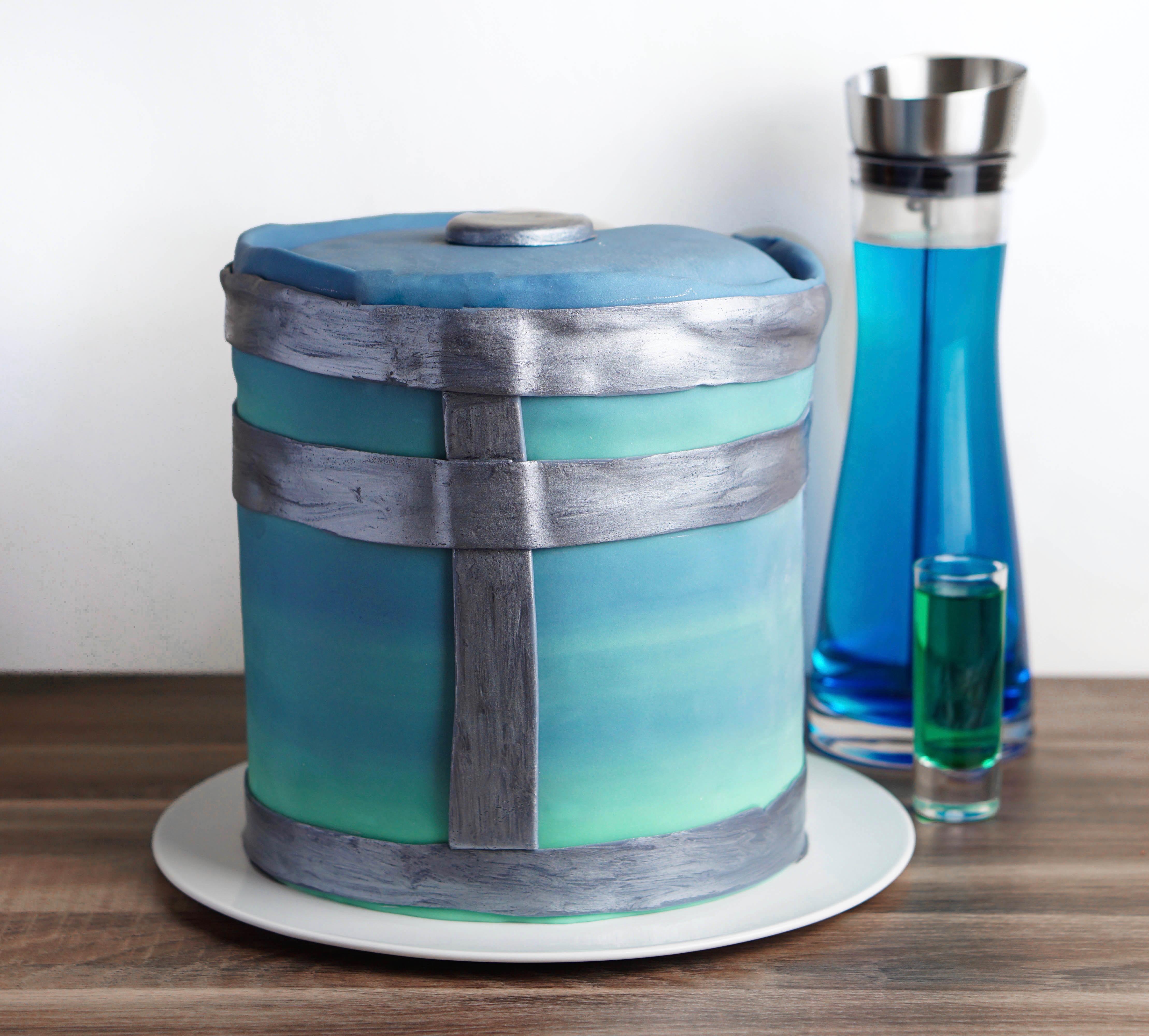 glutenfreie Fortnite-Torte / laktosefrei