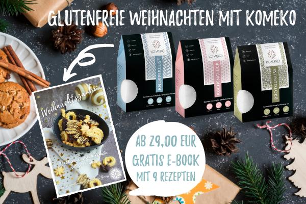 Glutenfreie Weihnachten mit Komeko