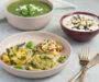 Schnelles Muttertagsmenü: Feldsalatsuppe, Vegetarische Quetschkartoffeln, Blaubeercreme – Histaminarm, Fruktosearm, Glutenfrei, Laktosefrei