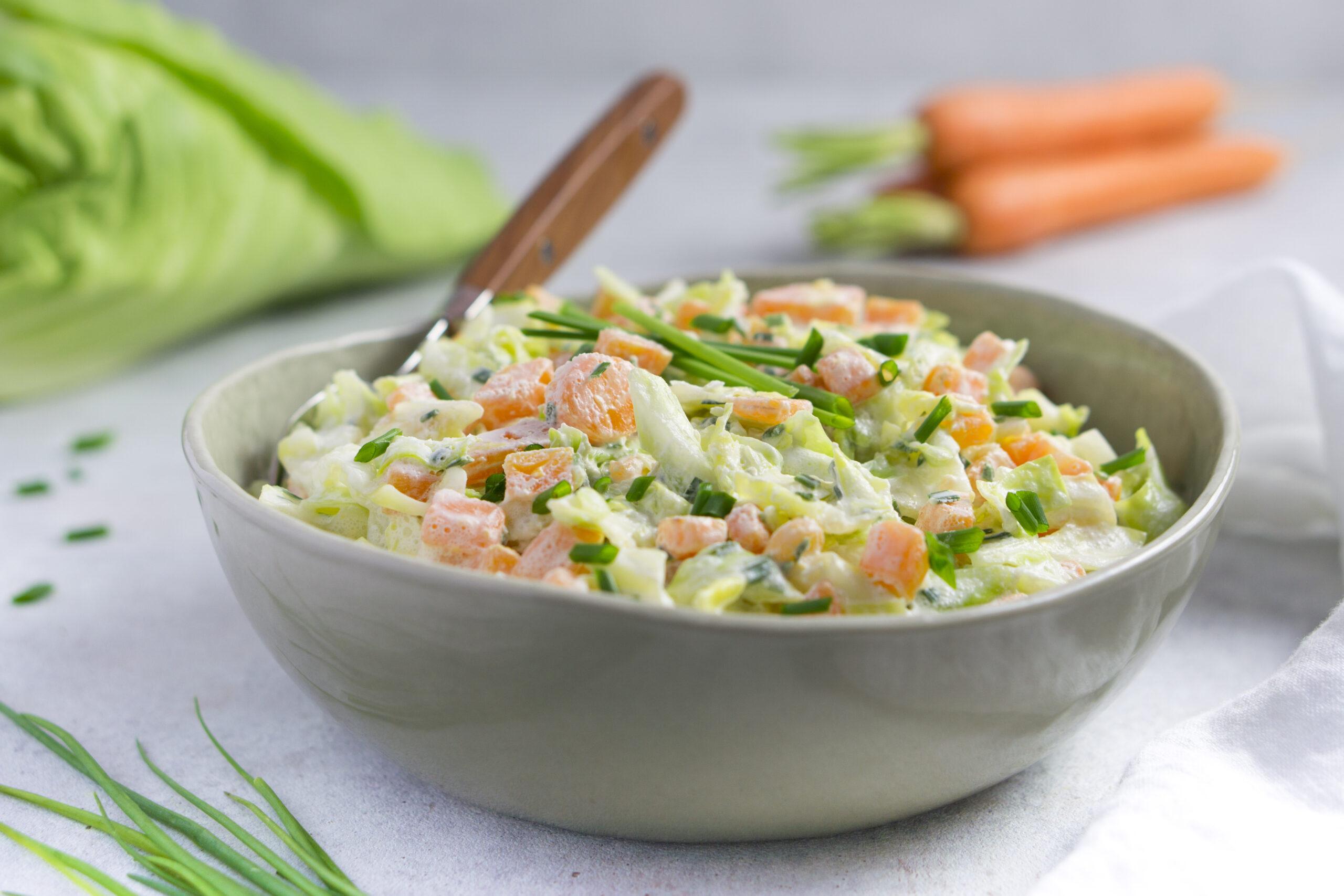 15 Minuten Krautsalat vom Spitzkohl-eat Tolerant