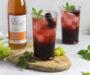 Histaminarmer Sommer Cocktail – Brombeer Spritz in 5 Minuten /Glutenfrei-Vegan