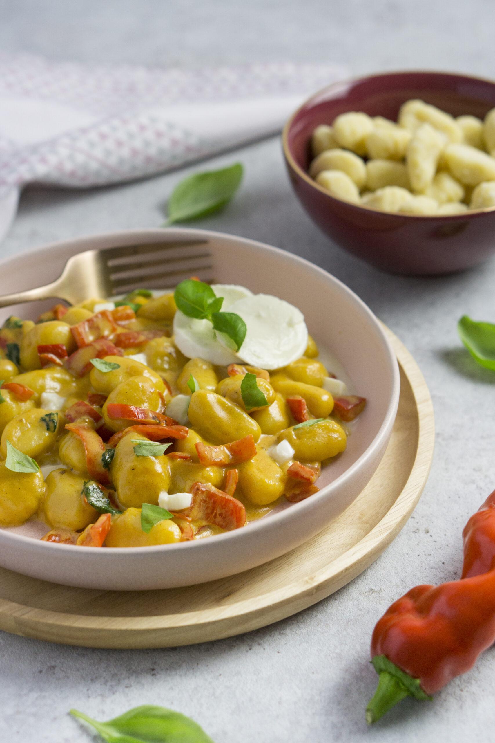 15 Minuten Gnocchi Pfanne mit Paprika - Eat Tolerant
