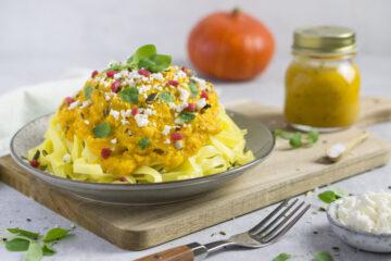 Kürbis Pasta süss-sauer Eat Tolerant