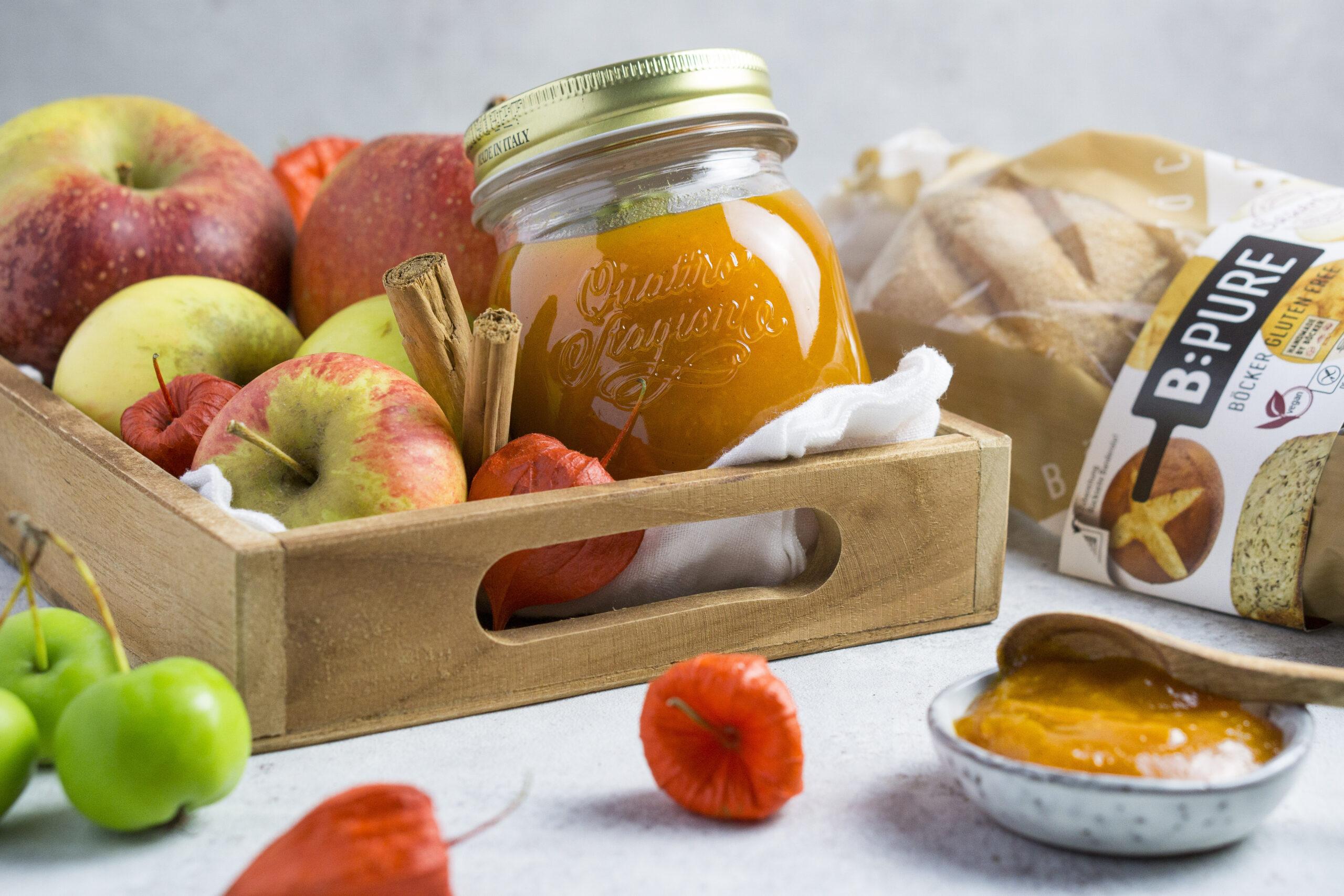 Apfel-Kürbis Marmelade Eat Tolerant
